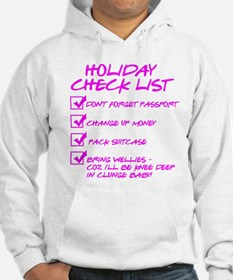 Holiday Check List Jumper Hoody