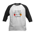 Apples Oranges Kids Baseball Jersey