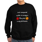 Apples Oranges Sweatshirt (dark)