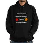 Apples Oranges Hoodie (dark)