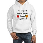 Apples Oranges Hooded Sweatshirt