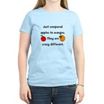 Apples Oranges Women's Light T-Shirt
