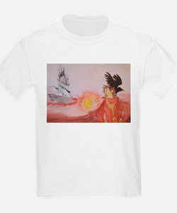 The Dark Tower Watercolor Painting T-Shirt