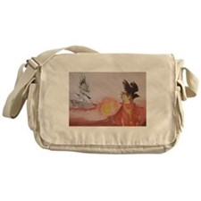 The Dark Tower Watercolor Painting Messenger Bag