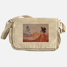 The Dark Tower Watercolor Painting Messenger Bag