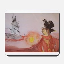The Dark Tower Watercolor Painting Mousepad