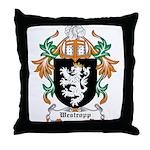 Westropp Coat of Arms Throw Pillow