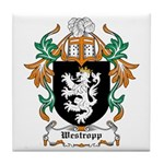 Westropp Coat of Arms Tile Coaster