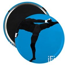 iFight (blue) Magnet