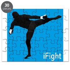 iFight (blue) Puzzle