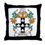 Wellesley Coat of Arms Throw Pillow