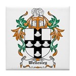Wellesley Coat of Arms Tile Coaster