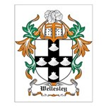 Wellesley Coat of Arms Small Poster
