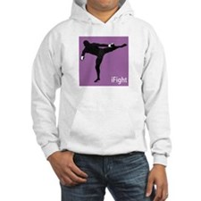 iFight (purple) Hoodie