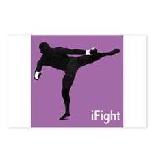 iFight (purple) Postcards (Package of 8)