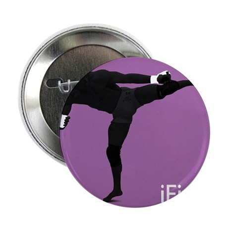 "iFight (purple) 2.25"" Button"