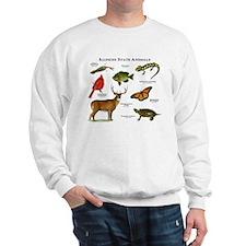 Illinois State Animals Sweatshirt