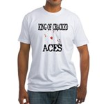 King of Cracked Aces Fitted T-Shirt