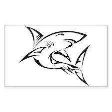 Tribal Shark Decal