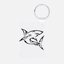 Tribal Shark Keychains