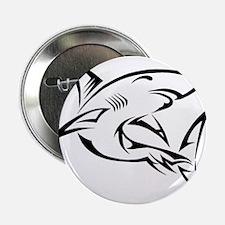 """Tribal Shark 2.25"""" Button"""