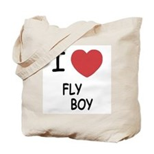 I heart FLYBOY Tote Bag