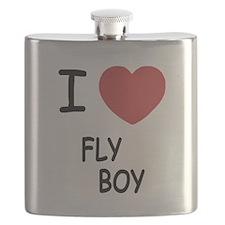 I heart FLYBOY Flask