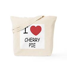 I heart cherry pie Tote Bag