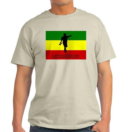 Light LacrosseAholic T-Shirt