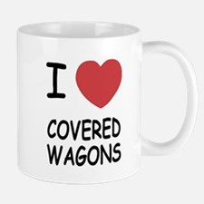 I heart covered wagons Mug