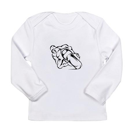 Tribal Moto Long Sleeve Infant T-Shirt