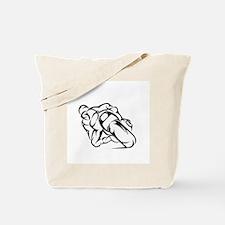 Tribal Moto Tote Bag