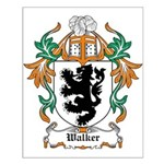 Walker Coat of Arms Small Poster