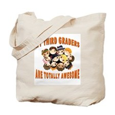 Awesome Third Graders Tote Bag