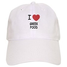 I heart greek food Baseball Cap