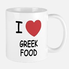I heart greek food Mug