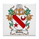 Waddy Coat of Arms Tile Coaster