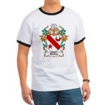 Waddy Coat of Arms Ringer T