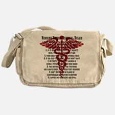 Unique Lpn Messenger Bag