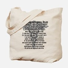 Unique Survival Tote Bag