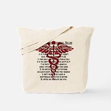 Cute Nurse school Tote Bag