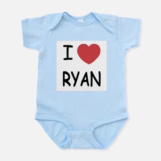 I heart RYAN Infant Bodysuit