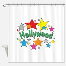 Hollywood Stars Shop Shower Curtain