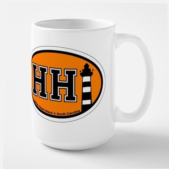 Hilton Head Island SC - Oval Design Mugs