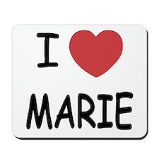 I heart MARIE Mousepad