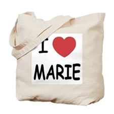 I heart MARIE Tote Bag