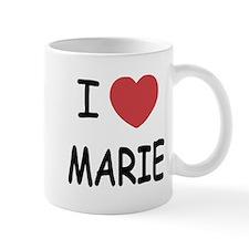 I heart MARIE Mug