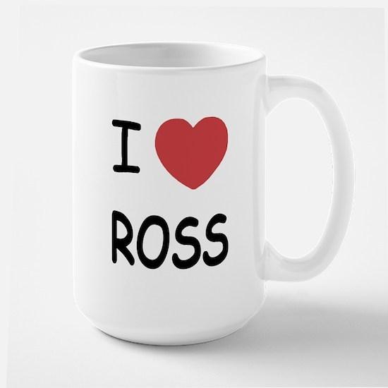I heart ROSS Large Mug