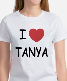 I heart TANYA Women's T-Shirt