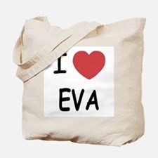 I heart EVA Tote Bag